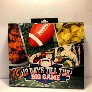 Set of 12 socks Super Bowl Advent Football BNWT